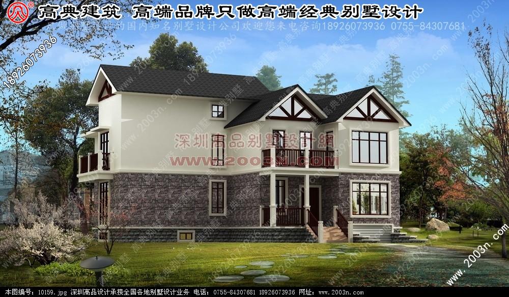 42张豪华别墅设计效果图原创设计作品
