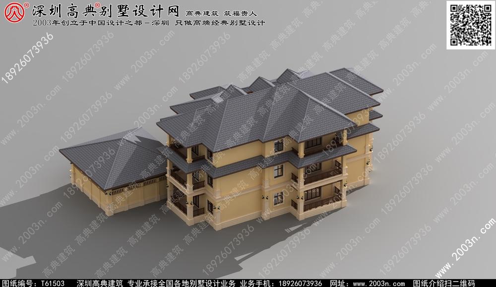 墅乡村二层楼房设计图