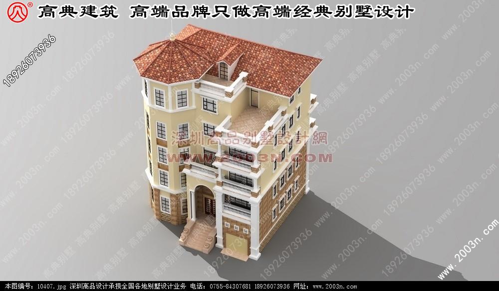农村二层小别墅外观观赏 上海别墅设计装修